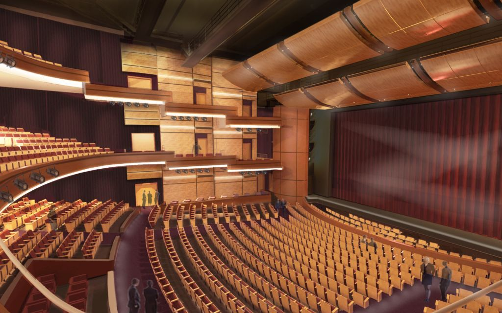 Humanities and Fine Arts Center Auditorium Space