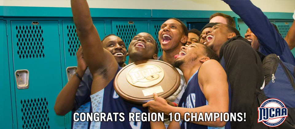 Congratu;ations Reginos 10 Champions. For the third time in six years, the Cape Fear Community College men